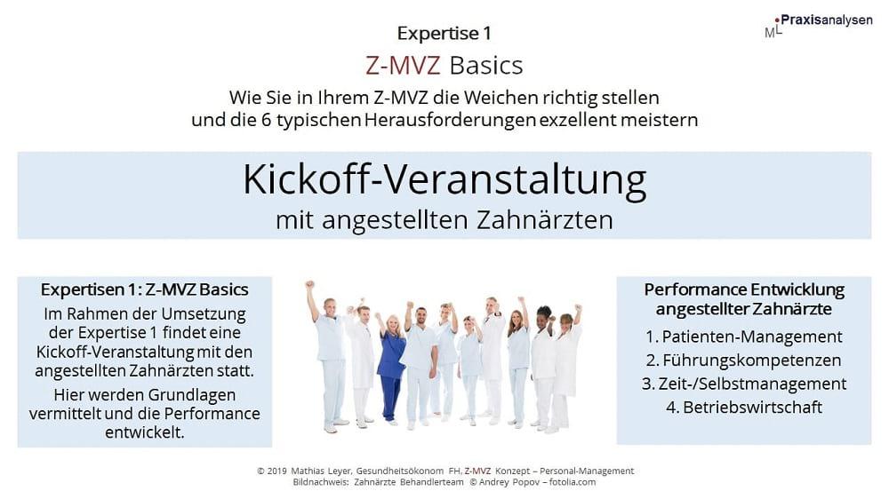 Kickoff-Veranstaltung Führungskompetenzen im Z-MVZ stärken: die pragmatische Umsetzung in den Praxisalltag eines Zahnmedizinischen Versorgungszentrums