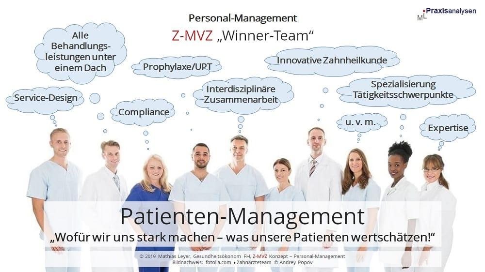 Patienten-Management: Wofür sich ein Z-MVZ mit angestellten Zahnärzten stark macht und was Patienten wertschätzen.