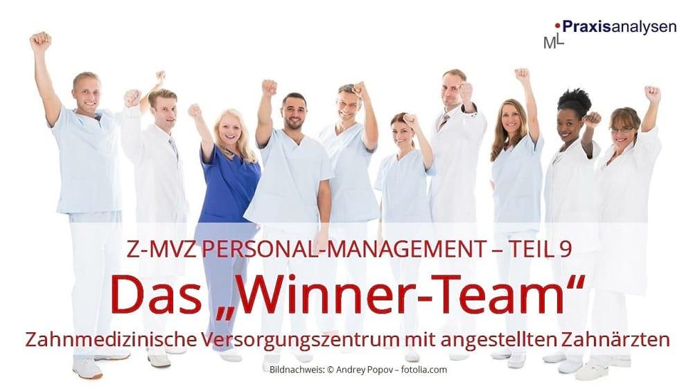 "Z-MVZ Personal-Management: Das ""Winner-Team"""