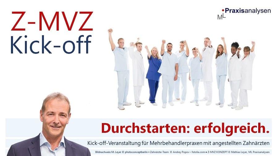 Z-MVZ Kick-off-Veranstaltung mit angestellten Zahnärzten